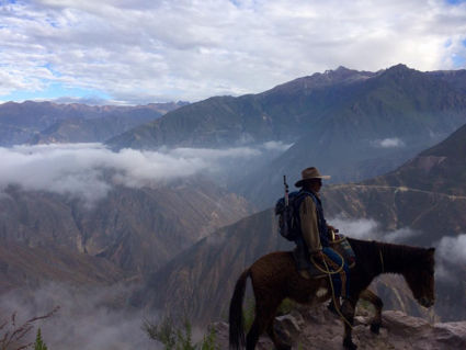 Colca Canyon in the early morning