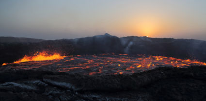 Erta Ale vulkaan, de poort naar de hel.