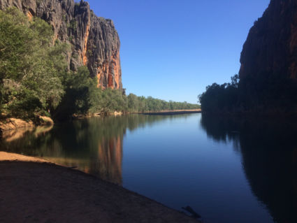 Windjana gorge on the gibb river road