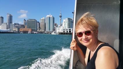 Met de boot naar Auckland!