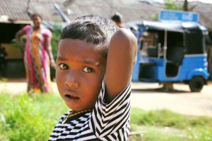 Sloppenwijk in Sri Lanka