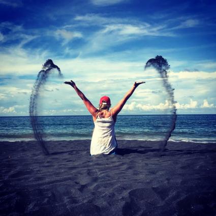 Playa Negro - het zwarte strand