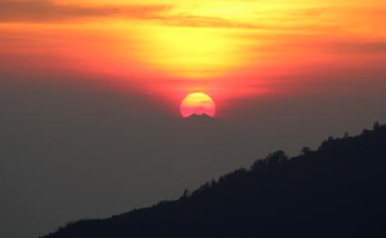 Zonsopkomst beklimming Batur Balie