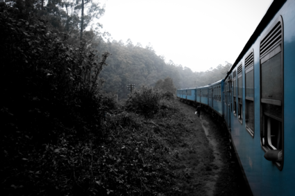 Misty railway......