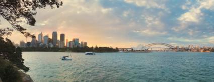 Zonsondergang Sydney