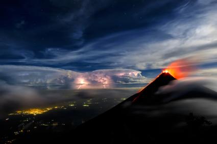 Al Fuego Eruption