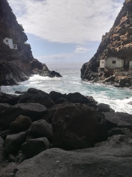 De piratenkloof van La Palma.