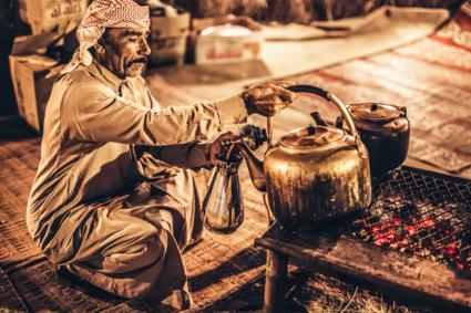Koffie in de Woestijn