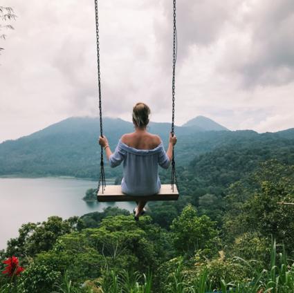 Swing on top of Bali