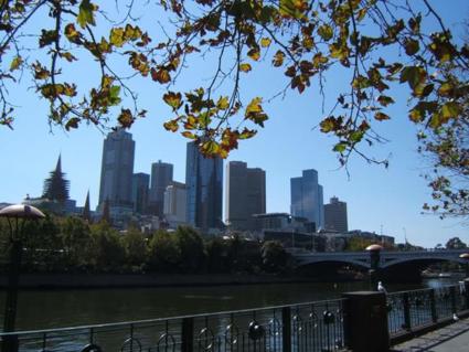 Skyline van het mooie Melbourne!