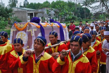 Begrafenis bij Hué