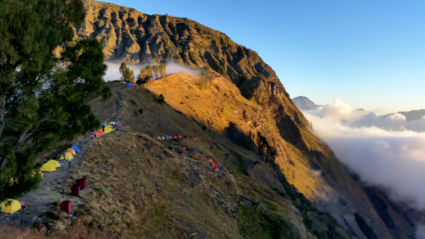 Our stay at mount Rinjani, Lombok