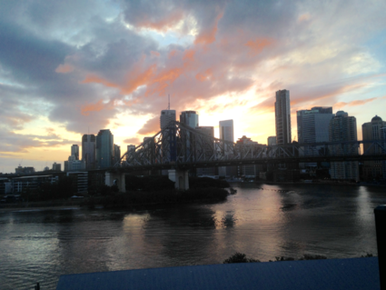 Sunset Storybridge