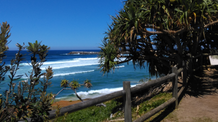 De oostkust van Australië