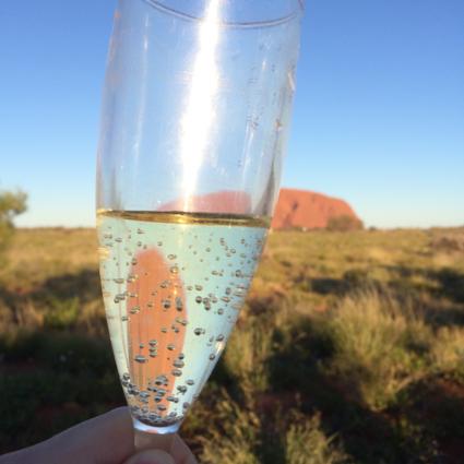 Ontspannen bij Uluru