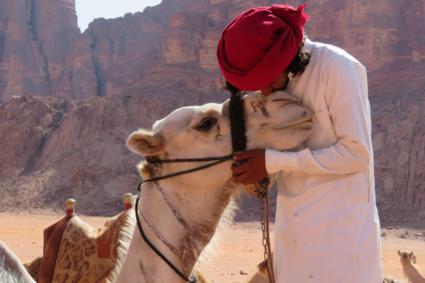 Liefdevol Wadi Rum
