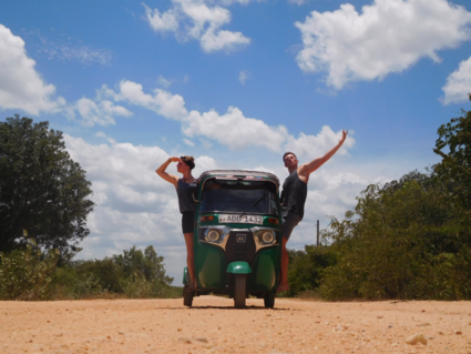 Sri Lanka rond met onze TukTuk