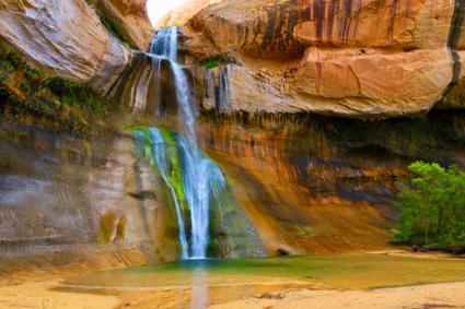Lower Calf Creek falls (Utah)