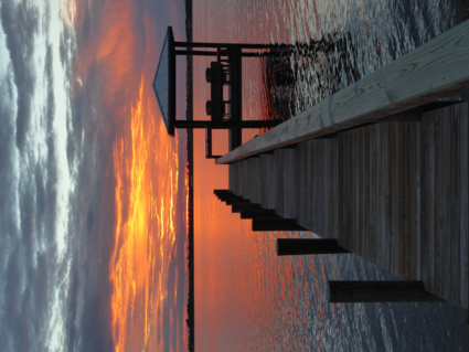 Sunset over the Indiatlantic in Florida