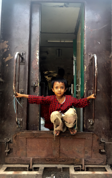 Train ride to Hsipaw