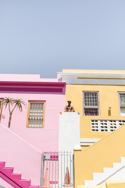 Statue of Bo-kaap - Between the lines