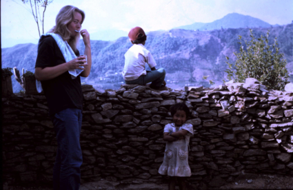Wilma in de Himalaya