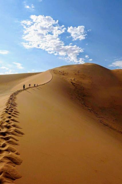 Big Momma Mountain in Namibië