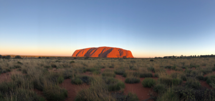 Heart of the red centre, home of the aboriginals
