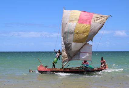 vissersboot Madagaskar