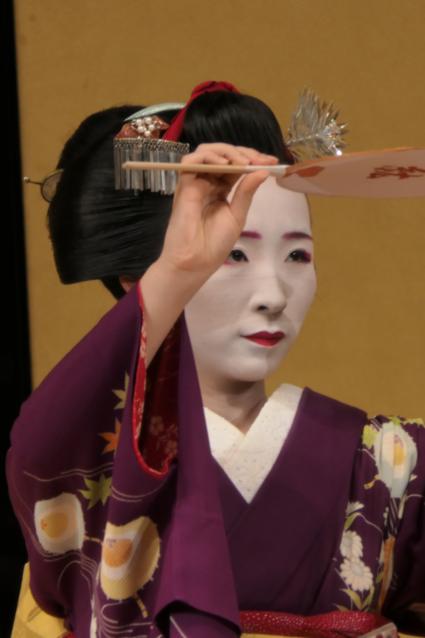 Imponerende Geisha-show in Kyoto