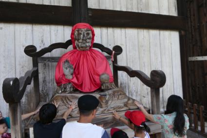 De vriendelijke Buddha